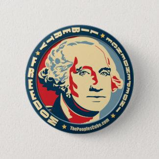 ジョージ・ワシントン-改革: OHPボタン 5.7CM 丸型バッジ