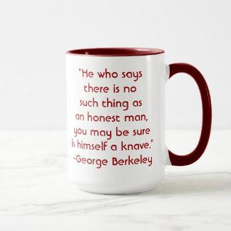 ジョージBerkelyの正直者の引用文のマグ マグカップ