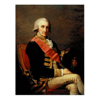 ジョージBrydgesロドニー1791年海軍大将 ポストカード