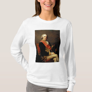 ジョージBrydgesロドニー1791年海軍大将 Tシャツ