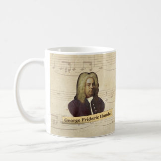 ジョージFrideric Handelの歴史的マグ コーヒーマグカップ