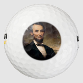 ジョージHの物語によるエイブラハム・リンカーン ゴルフボール