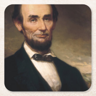 ジョージHの物語によるエイブラハム・リンカーン スクエアペーパーコースター
