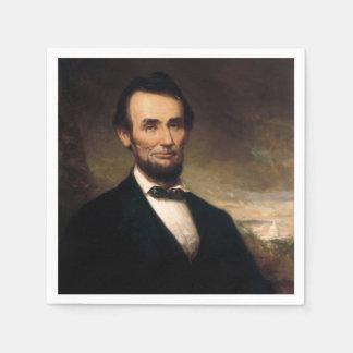 ジョージHの物語によるエイブラハム・リンカーン スタンダードカクテルナプキン