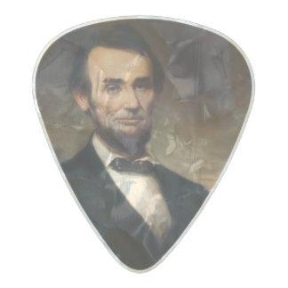 ジョージHの物語によるエイブラハム・リンカーン パールセルロイド ギターピック