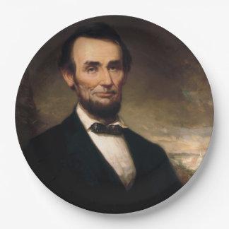 ジョージHの物語によるエイブラハム・リンカーン ペーパープレート