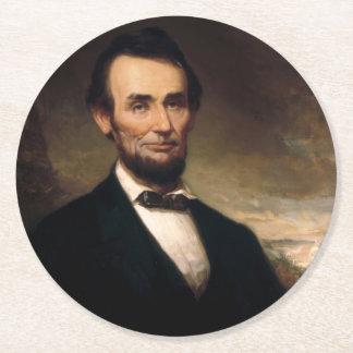 ジョージHの物語によるエイブラハム・リンカーン ラウンドペーパーコースター
