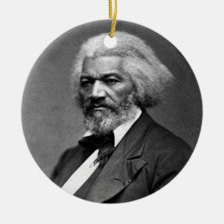 ジョージK.ワーレン著Frederick Douglassのポートレート セラミックオーナメント