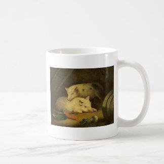 ジョージMorland著ブタ コーヒーマグカップ