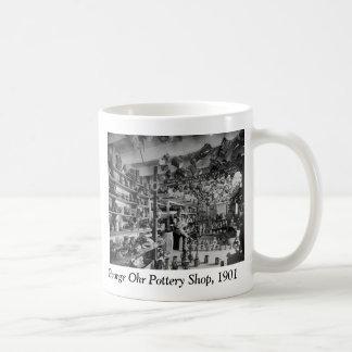 ジョージOhr陶器の店1901年 コーヒーマグカップ