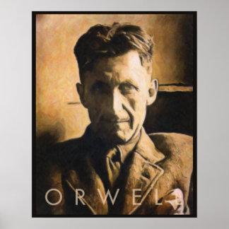 ジョージOrwellポスター ポスター