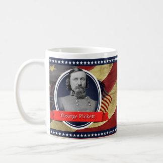 ジョージPickettの歴史的マグ コーヒーマグカップ