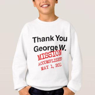 ジョージWありがとう スウェットシャツ