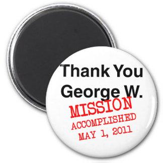 ジョージWありがとう マグネット