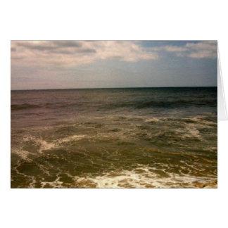 ジョーンズのビーチのoceanview カード