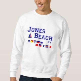 ジョーンズのビーチNYのシグナルフラグ スウェットシャツ