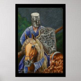 ジルおよび騎士 ポスター