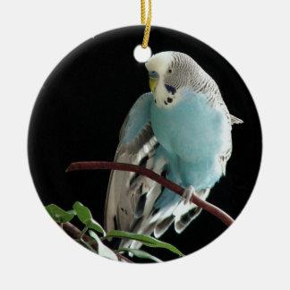 ジルBudgie Round Ornament氏 セラミックオーナメント