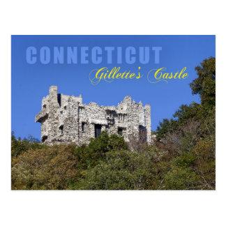 ジレットの城、コネチカット ポストカード