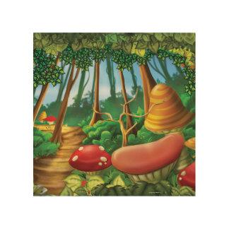 ジングルのジングル少し格言の森林木芸術 ウッドウォールアート