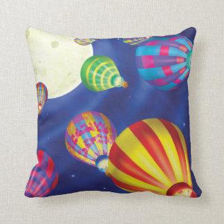 ジングルのジングル少し格言の熱気の気球の枕 クッション