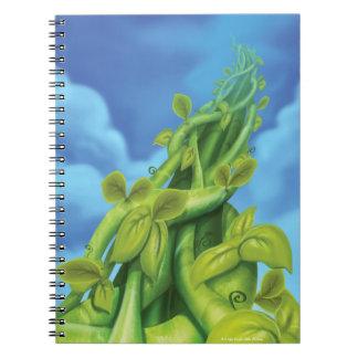 ジングルのジングル少し格言の豆の茎のノート ノートブック