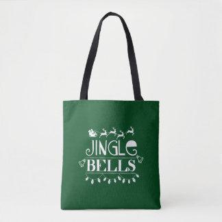 ジングルベルのクリスマス トートバッグ