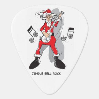 ジングルベルの石のギターピック ギターピック