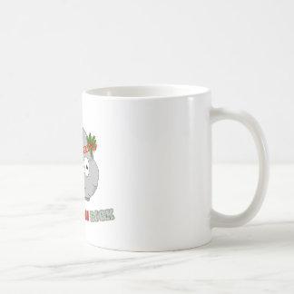 ジングルベルの石のクリスマスのマグ コーヒーマグカップ