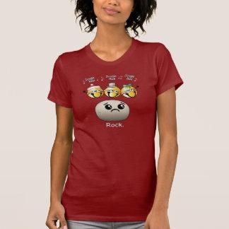 ジングルベルの石のTシャツ Tシャツ
