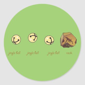ジングルベルの石 ラウンドシール