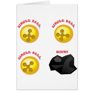 ジングルベル、ジングルベル、ジングルベルの石! カード