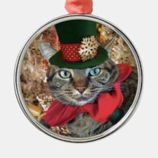 ジングル猫のコレクション メタルオーナメント