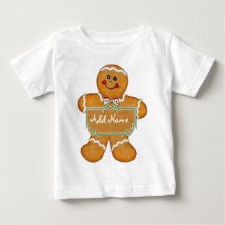 ジンジャーブレッドのおもしろい ベビーTシャツ