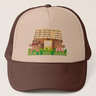 ジンジャーブレッドのカップルの野球帽 キャップ