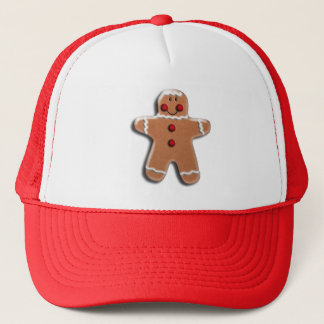 ジンジャーブレッドのクッキー キャップ