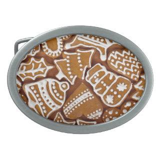 ジンジャーブレッドのクッキー 卵形バックル