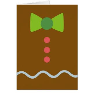 ジンジャーブレッドのクリスマスカード カード
