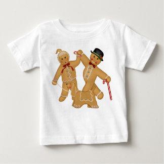 ジンジャーブレッドのトリオ ベビーTシャツ