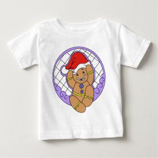 ジンジャーブレッドのベビー ベビーTシャツ