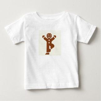 ジンジャーブレッドのヨガの木Asana ベビーTシャツ