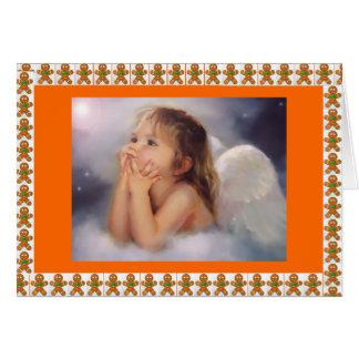 ジンジャーブレッドの天使 カード