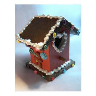ジンジャーブレッドの巣箱III ポストカード
