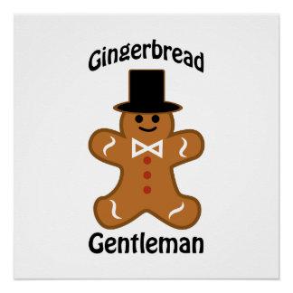 ジンジャーブレッドの紳士 ポスター
