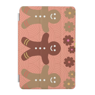 ジンジャーブレッドのiPadの小型頭が切れるなカバー iPad Miniカバー