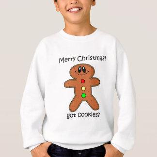 ジンジャーブレッドマンのクリスマス スウェットシャツ