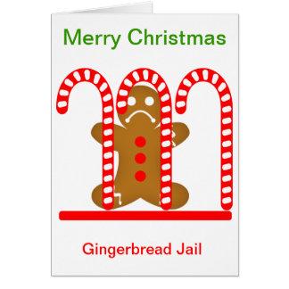ジンジャーブレッドマンの刑務所 カード