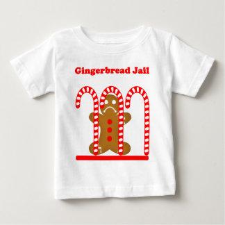 ジンジャーブレッドマンの刑務所 ベビーTシャツ