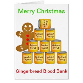 ジンジャーブレッドマンの血液銀行 カード