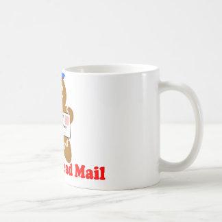 ジンジャーブレッドマンの郵便配達 コーヒーマグカップ